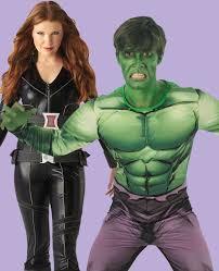 black widow the incredible hulk avengers fancy dress costume idea for
