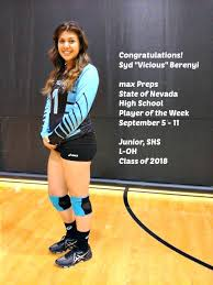 """April Chapple Coach/Trainer/Creator/Zookeeper on Twitter: """"Congratulations  Syd Vicious! max Preps Player of the Week September 5 - 11!… """""""