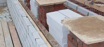 lightweight concrete block for load bearing walls for foundations high resistance