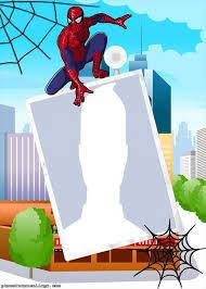 photo montage spiderman