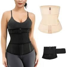 Fajas Colombianas Size Chart Details About Fajas Colombianas Body Shaper Slimming Wrap Belt Plus Size Zipper Waist Cincher