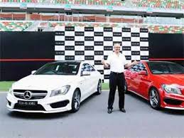 The launch of the new e63 amg further reiterates our promise of bringing. Mercedes Unveils Sub Crore Sports Car Cla 45 Amg The Economic Times