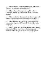 mindtree questions
