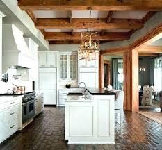 brick kitchen walls style kitchens wall decoration ideas vintage floor split flooring installing wa split brick flooring