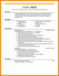 Medical Billing Resume Medical Billing Resume No Experience