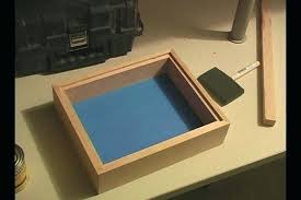 shadow box plans build a wooden box frame how to toy bench