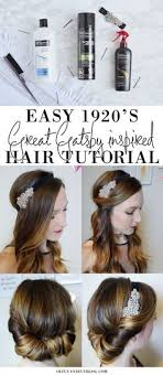 Gatsby Hairstyles 10 Inspiration PrettyHairstylesforLongHair24s Great Gatsby Pinterest