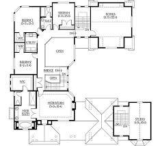 u shaped house plans with courtyard pool unique floor plan house courtyard plans secret farmhouse pool