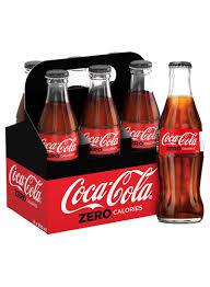 Coca Cola Light 235 Ml Shop Coca Cola Zero Carbonated Drink Glass Bottles 290 Ml