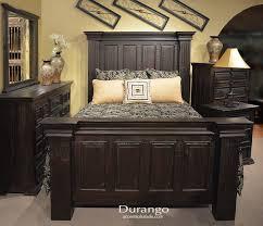 Durango Southwest Bedroom Furniture Southwest Western Hacienda