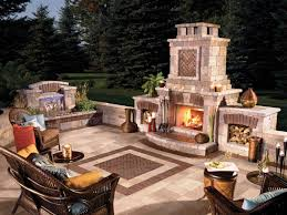 outdoor propane fireplace kits
