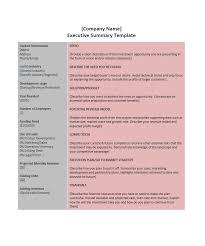 Executive Sumary 30 Perfect Executive Summary Examples Templates Template Lab