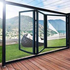 folding patio doors. 2.4M,3M Quality Aluminuim Bi-Fold Bi Fold Doors Inc Glass 3 Panels Folding Patio