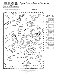They're quite useful for various arts and craft projects, number and math learning activities. Space Color By Number Worksheet Free Printable Digital Pdf