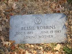 Bessie Myrtle Parker Robbins (1889-1983) - Find A Grave Memorial