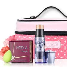 free benefit makeup package
