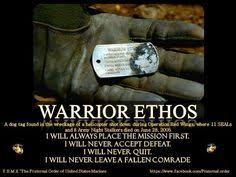 best marine corps warrior ethos images military  a dog tag found in the wreckage of a helicopter shot down during operation red wings