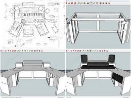Spectacular Design 15 Home Studio Production Desk Blueprints Building A  Controllerist Part 1 The