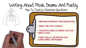writing about prose drama poetry gcse english revision writing about prose drama poetry gcse english revision