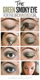 green smoky eyes
