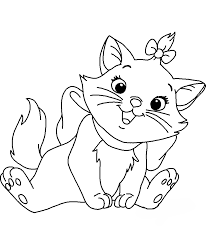 Kleurplaat Marie Aristocats Aristocats Coloring Pages Best Coloring