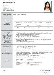Resume Format Word Document Free Download Resume Format Word Doc Free Download Best Formats For 1