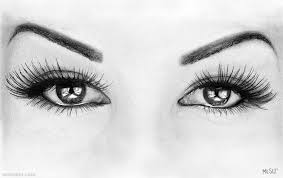 Eyes Pencil Drawing 35 Full Image