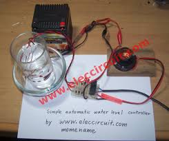 automatic water level controller circuit project testing of simple automatic water level controller circuit