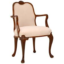 Antique Queen Anne Walnut Salon Armchair For Sale Queen Anne Armchair87