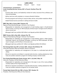 federal style resume