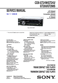 sony car audio service manuals page 26 Sony Cdx Gt25 Wiring Diagram cdx gt240, cdx gt24w, cdx gt290, cdx gt290s service sony cdx-gt25mpw wiring diagram
