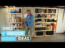 diy build your own garage storage
