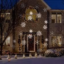 Snowfall Blizzard Led String Light Snowstorm Snowflake Gemmy
