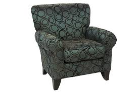 napa chocolate accent chair