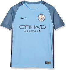 Nike Manchester City Kids Home Stadium Soccer Jersey (Field Blue) Youth  Small : Clothing - Amazon.com