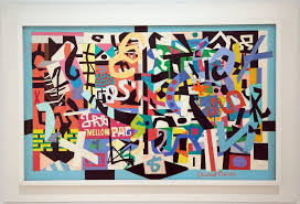 the exhibition stuart davis in full swing at the whitney museum of american art credit michael nagle for the new york times all rights reserved