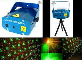 1 set mini laser stage lighting