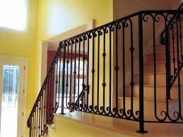 wrought iron indoor furniture. Wrought Iron Stair Railing Divine Railings Interior Furniture Charming And Decoration Ideas Indoor