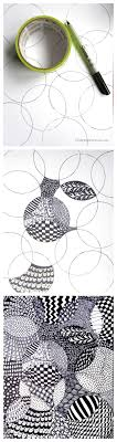 Zentangle Pattern Ideas Extraordinary Totally Easy Zentangle Craftwhack