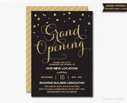 Grand Opening Invitations Grand Opening Invitation Corporate Invitation Company