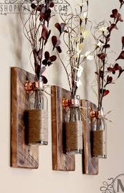 individual hanging diy painted mason jar wall decor rustic home decor living set of hanging mason