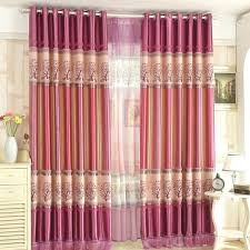 pink and purple curtain cheap tree beautiful curtains for girls bedroom ruffle shower33 shower