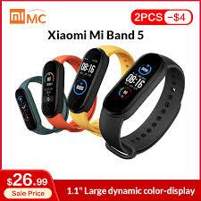"In Stock <b>Xiaomi Mi Band 5</b> Smart Bracelet 1.1"" AMOLED Colorful ..."