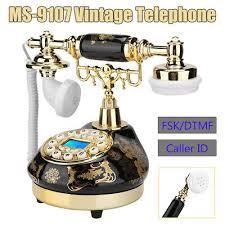 ms 9107 retro corded telephone home