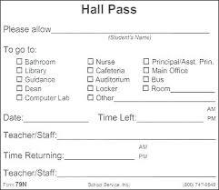 School Hall Pass Template Bathroom Pass Templates Printable Restroom Template School