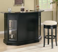 Contemporary Pub Table Set Inwood Contemporary Bar With Wine Rack And Stemware Storage
