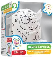 <b>BRADEX Набор для раскрашивания</b> Лампа-Барашек (DE 0266 ...