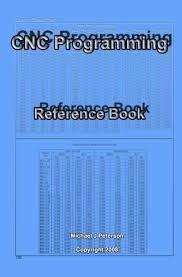G Code Reference Chart Cnc Programming Reference Book Paperback