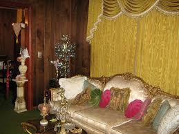 tacky gaudy ugly cheap d cor window drapes curtains furniture