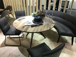 round dining table with bench view in gallery round tables dining table bench set next